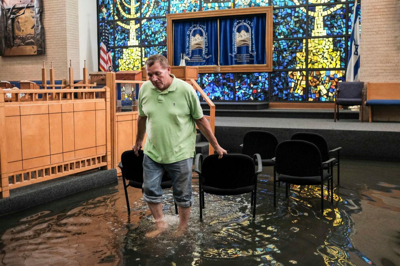סיוע לקהילה היהודית ביוסטון